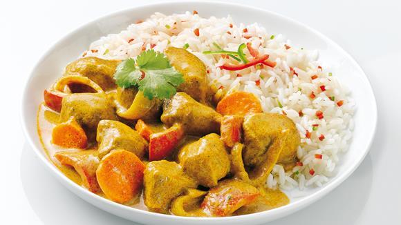 Asiatisches Curry Rezept