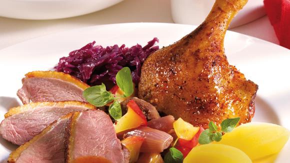 Ente mit Zimt und Maronen Rezept