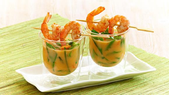 Thai-Spargelsuppe