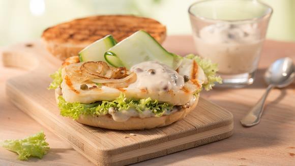 Grillkäse-Burger Rezept