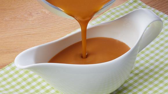 Trauben-Senf-Soße