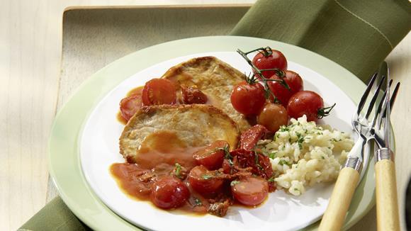 Tomaten-Schnitzel Rezept