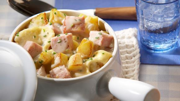 Kartoffeltopf mit Kasseler Rezept
