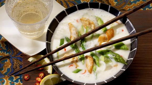 Thai-Spargel-Suppe Rezept