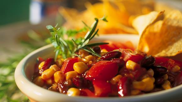 Mais-Kidneybohnen-Salat