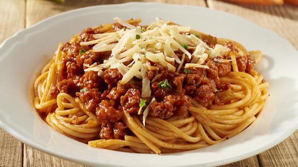 spaghetti bolognese rezept knorr. Black Bedroom Furniture Sets. Home Design Ideas