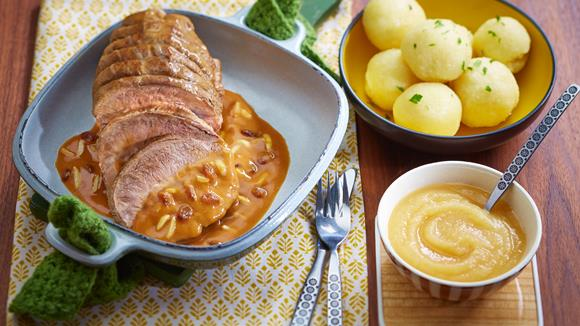 Sauerbraten rheinische Art Rezept
