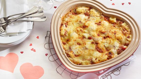 Lasagne-Herz