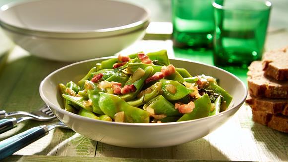 Herzhafter Bohnensalat