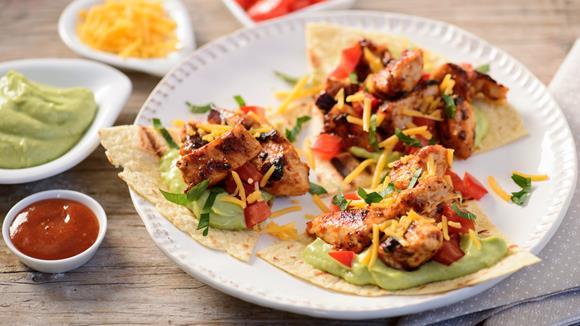 Feurige Chicken Tortillas Rezept