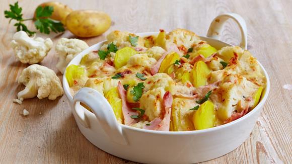 Blumenkohl-Kartoffel-Auflauf Rezept