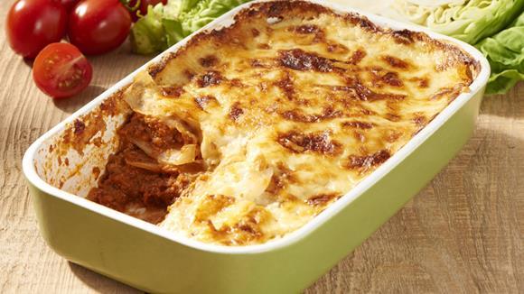 Rustikale Lasagne