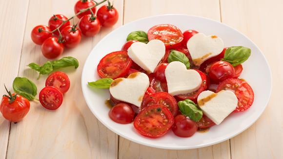 Herziger Tomatensalat