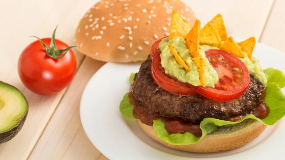 Drachen-Burger Rezept