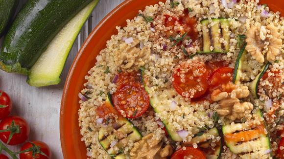 Quinoa mit Grillgemüse