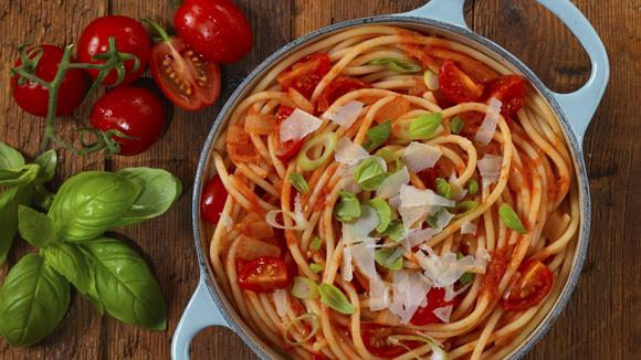 One Pot Pasta Kirschtomaten