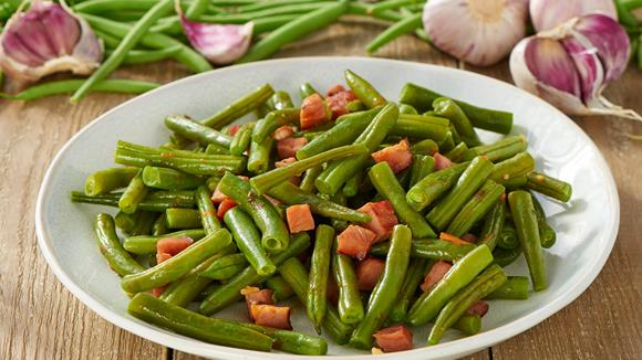 Grüne-Bohnen-Salat
