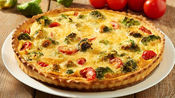 Brokkoli Quiche Rezept