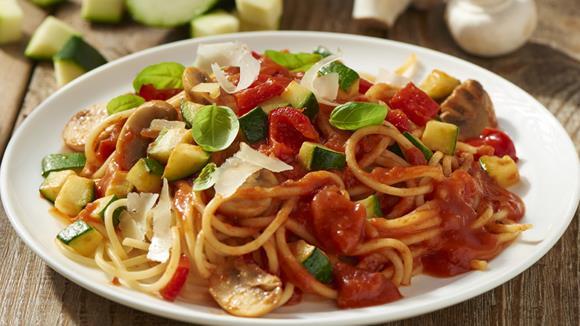 Vegane Gemüse Spaghetti Rezept