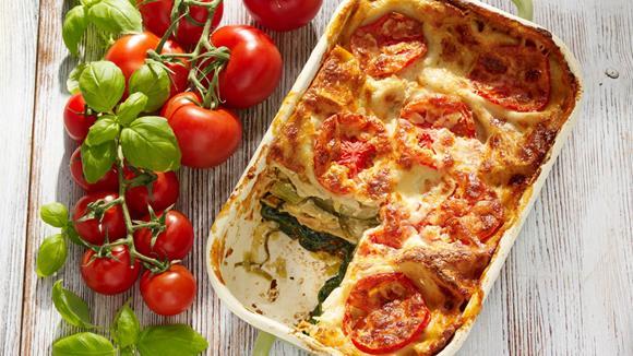 Gemüse Lasagne Rezept