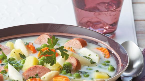 Leipziger Allerlei-Suppe