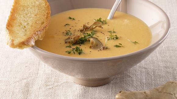 Kalte Möhren-Ingwer-Suppe Rezept