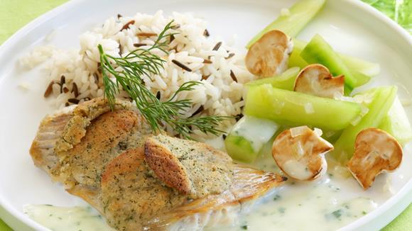 Knusperfisch mit Dill Rezept