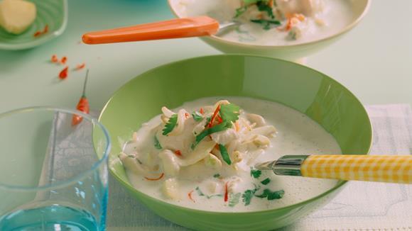 Thai-Hühner-Suppe Rezept