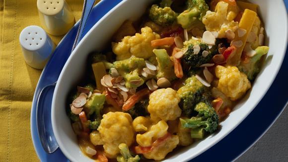 Blumenkohl-Broccoli-Curry