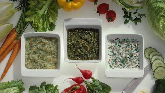Hirse-Gemüse-Dressing Rezept