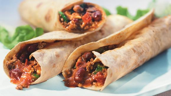 Tortillas con Carne