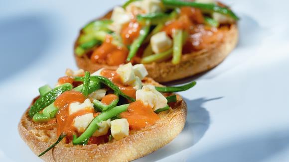 Zucchini-Toasties