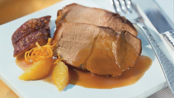 "Schweinebraten ""Orange"""