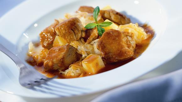 Kartoffel-Kraut-Gulasch Rezept