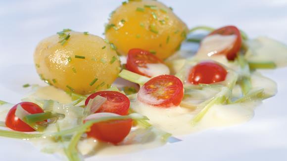 Lauch-Tomaten-Sauce