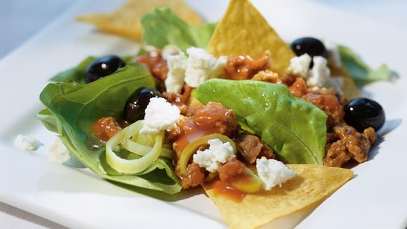 tortilla salat rezept knorr. Black Bedroom Furniture Sets. Home Design Ideas