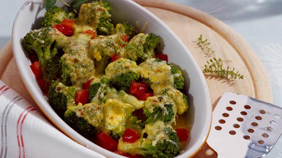 Überbackener Broccoli Rezept
