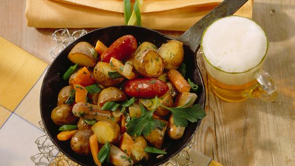 Mecklenburger Wurstpfanne Rezept