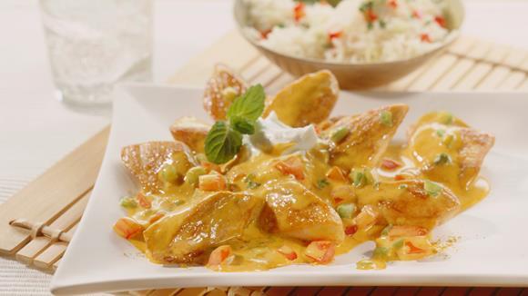 Curry-Hühnchen Rezept