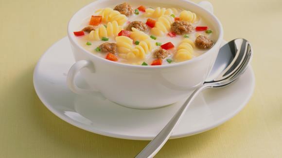 """Fleischklößchensuppe """"Elsässer Art"""" Rezept"""