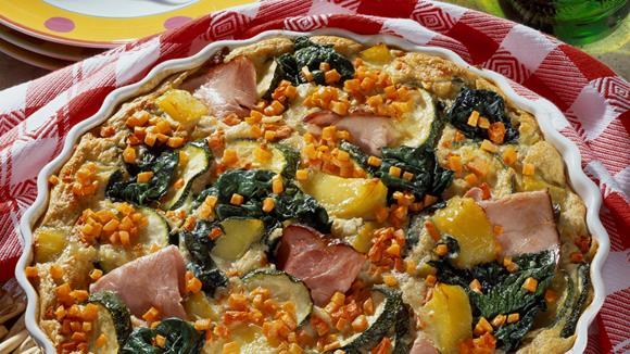 Gemüseauflauf mit Kartoffeln und Linsen Rezept
