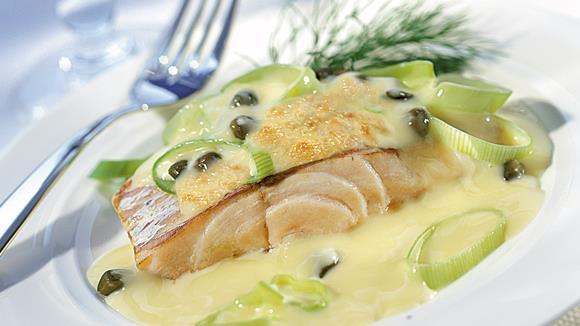 Gratiniertes Fischfilet Rezept