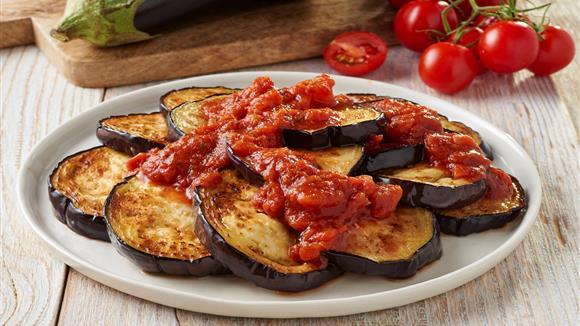 Aubergine in Tomate Rezept