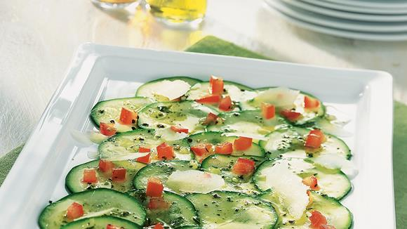 Zucchini-Carpacchio Rezept