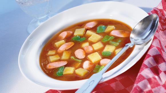 Feurige Kartoffel-Suppe
