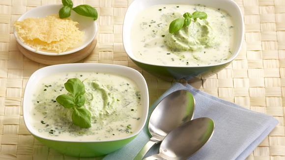 Spargel-Parmesan-Suppe Rezept