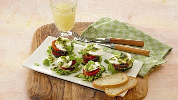 Salattürmchen Rezept