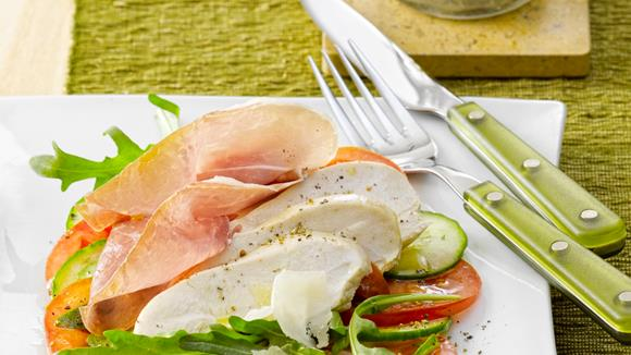 Mediterraner Salat Rezept
