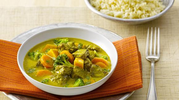 Curry mit Rindfleisch Rezept