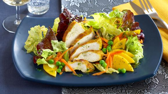 Indischer Hähnchen-Salat Rezept